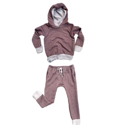 Mocha French Terry Jogger Set