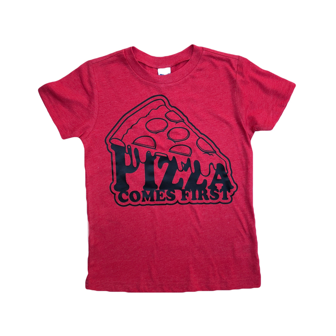 Red Pizza Party Shirt