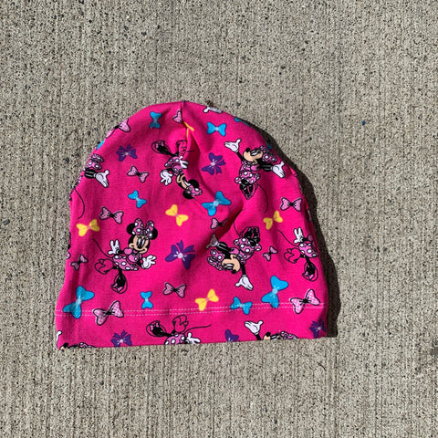 Hot Pink Minnie Mouse Beanie