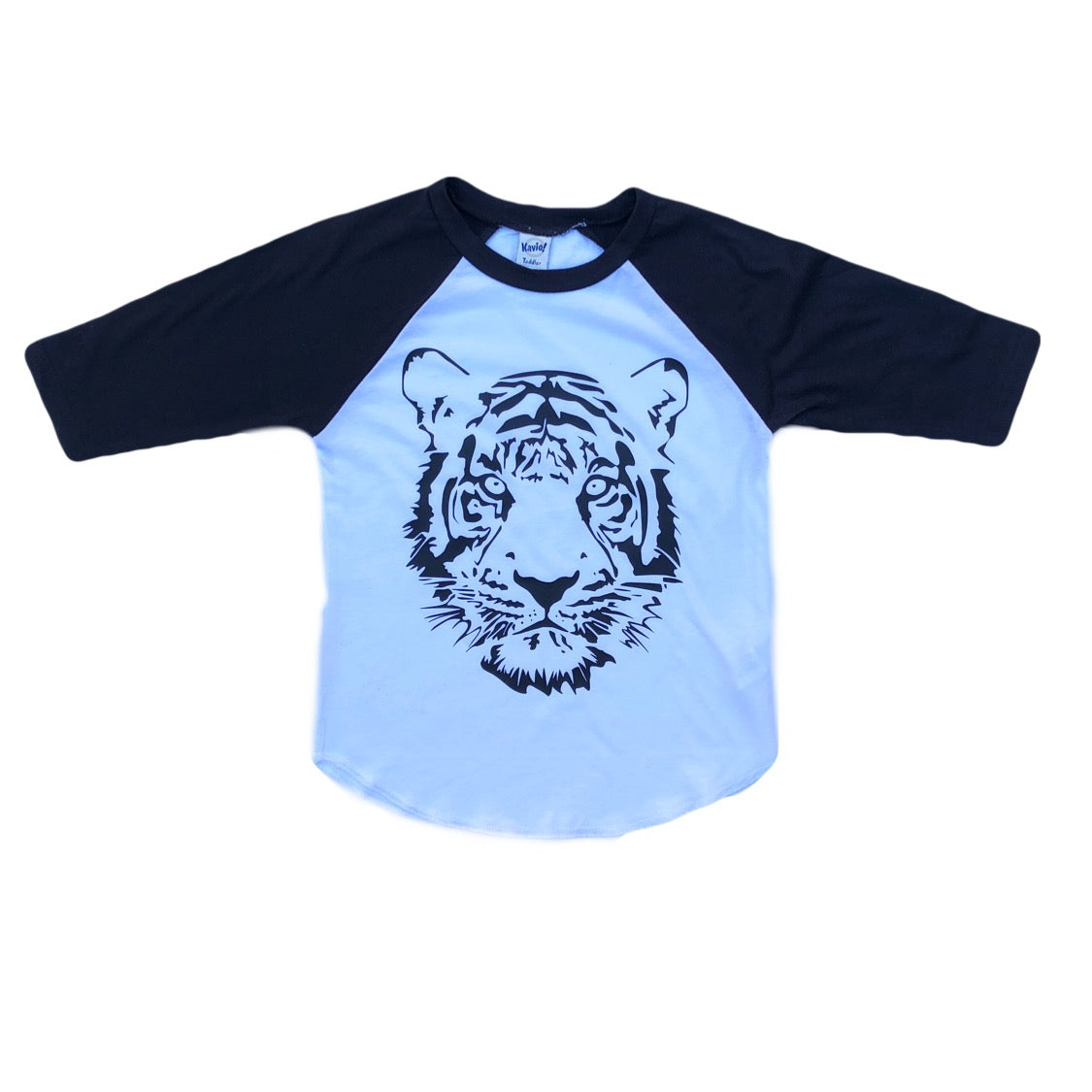 Black Raglan Tiger