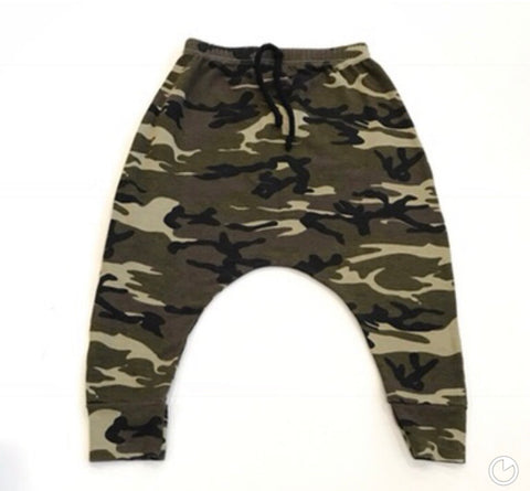 Limited Edition Camo Harem Pants