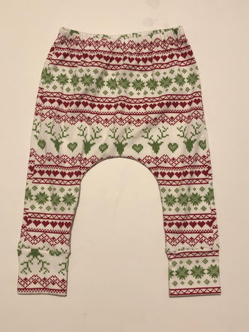 18m Vintage Green Red Christmas Harems