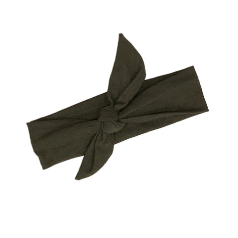 Pine Forest Tie Knot Headband