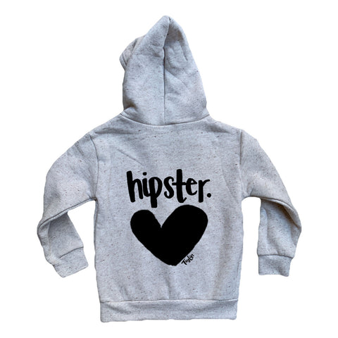 Hipster Grey Zip Up