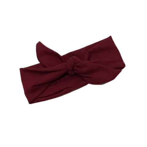 Holly Tie Knot Headband