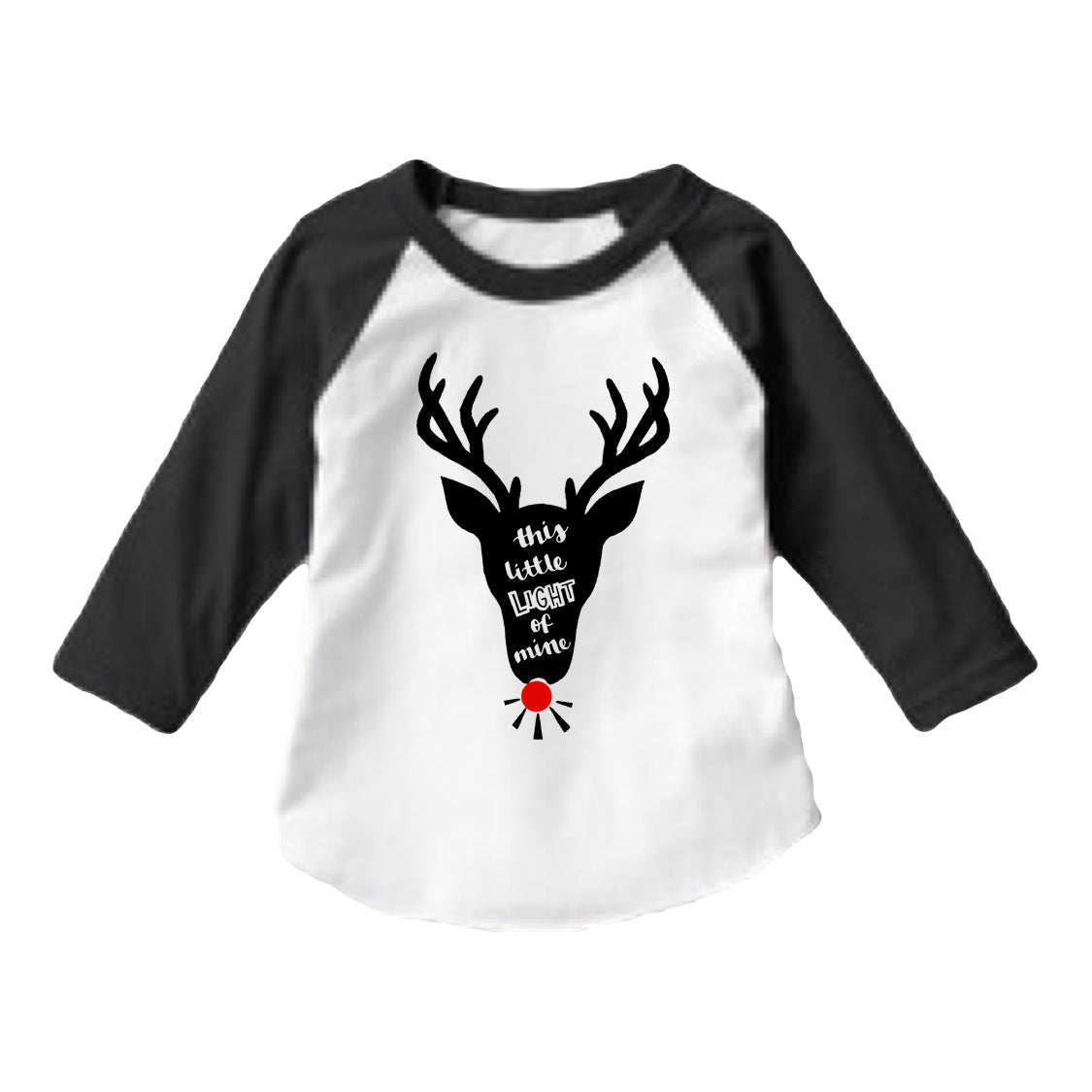 Reindeer Light Of Mine Raglan
