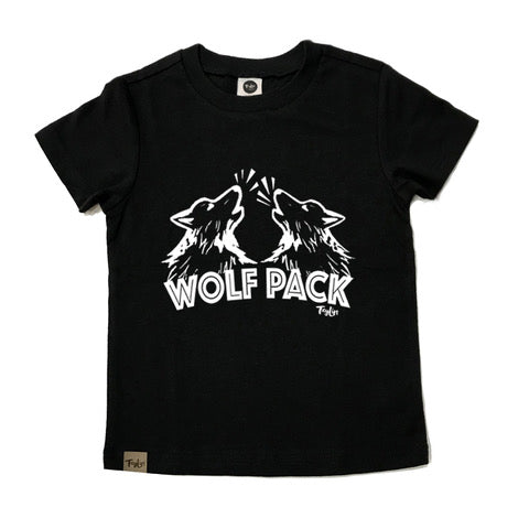 Wolf Pack Black SS Shirt