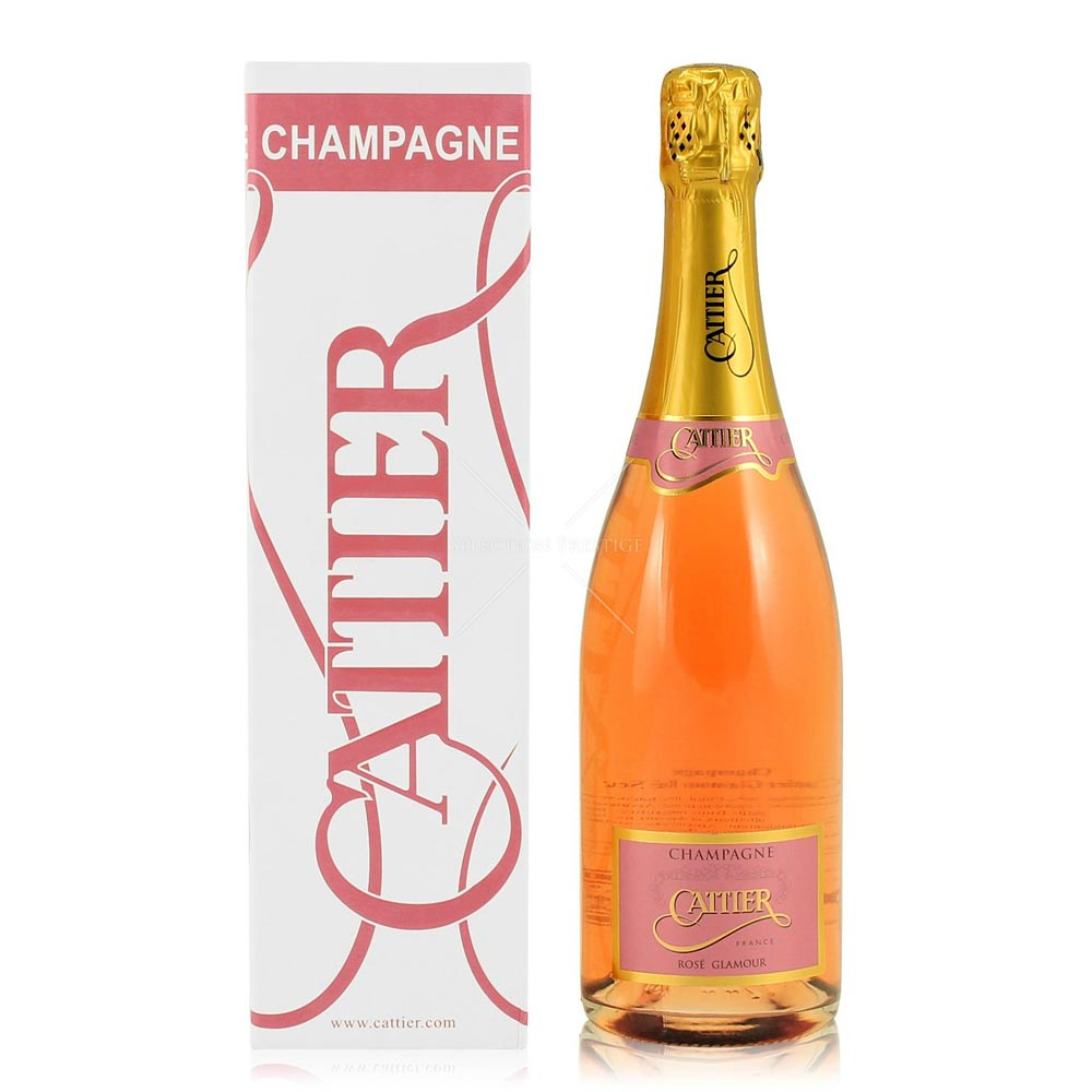 Cattier Glamour Rosé NV Champagne 75cl in Gift Box