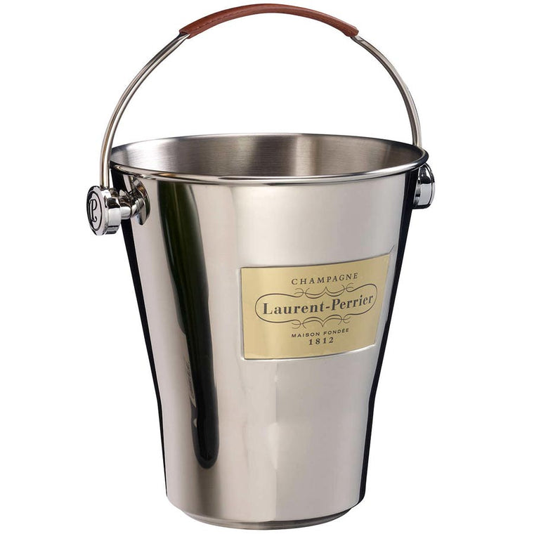 Laurent Perrier Branded Champagne Metal Ice Bucket