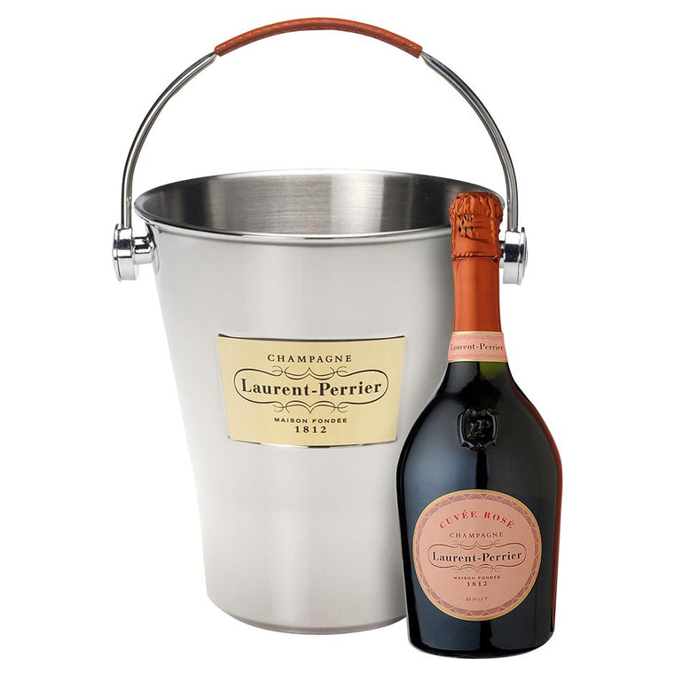 Laurent Perrier Rosé Champagne 75cl with Ice Bucket