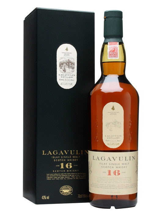 Lagavulin 16 Year Old Single Malt 70cl in Gift Box