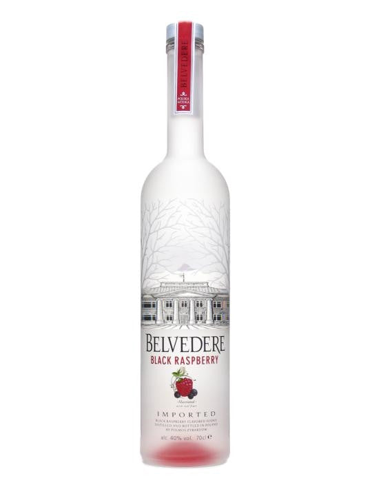 Belvedere Black Raspberry 70cl
