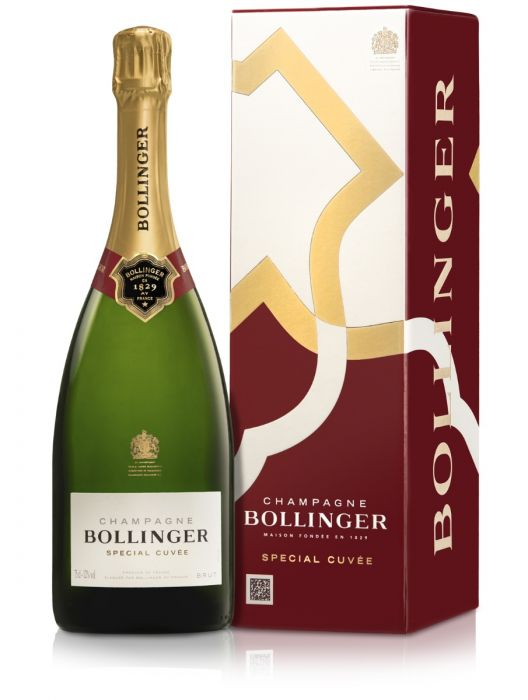 Bollinger Special Cuvée Brut Champagne 75cl in Gift Box