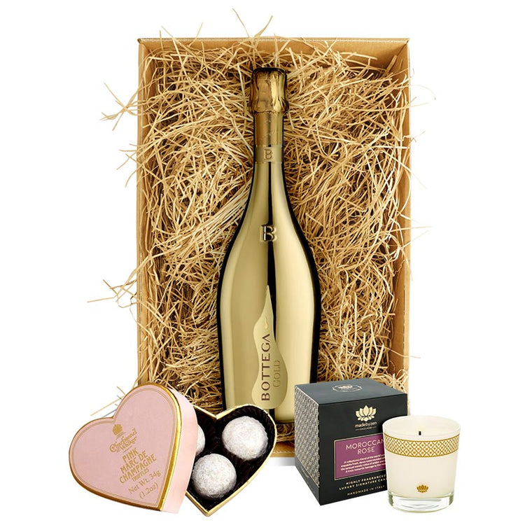 Bottega Gold 75cl, MadebyZen Candle & Truffles