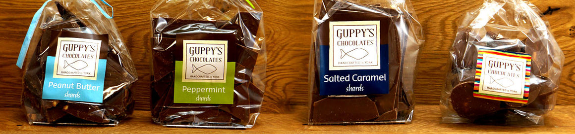 Handcrafted Guppy's Chocolates 150g