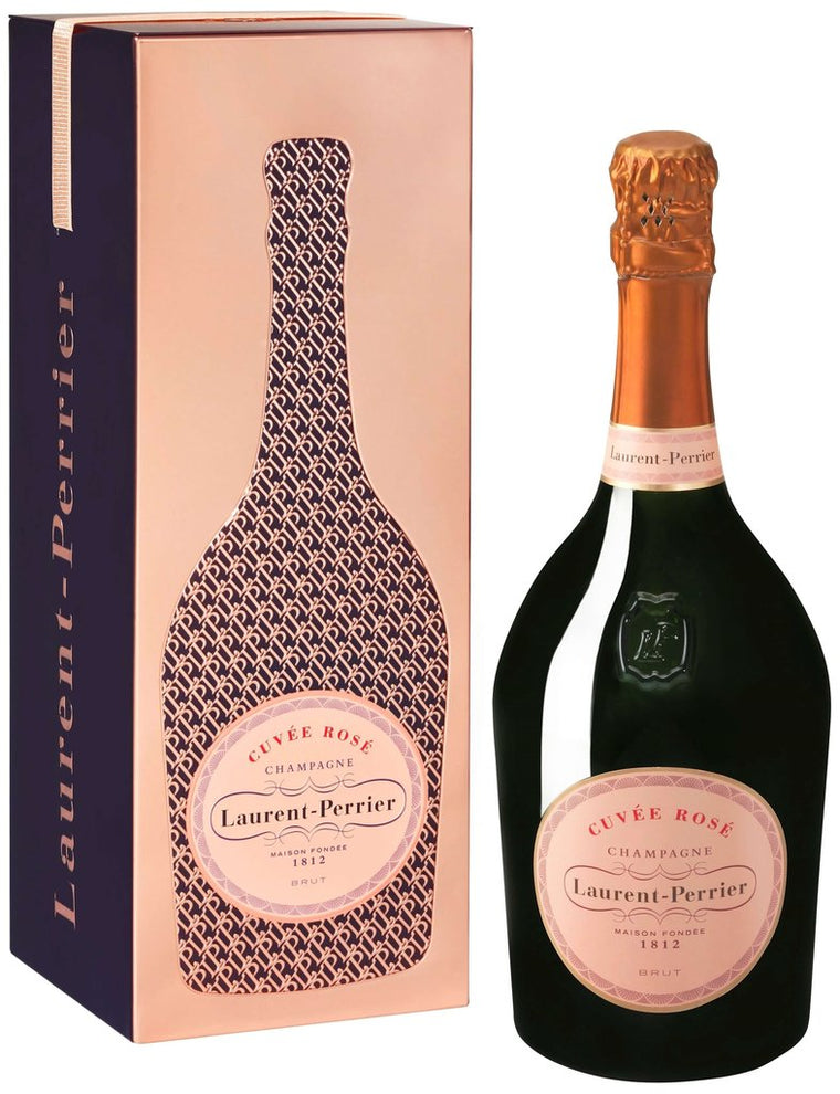 Laurent Perrier Rosé 75cl in Cuveé Rosé Tin
