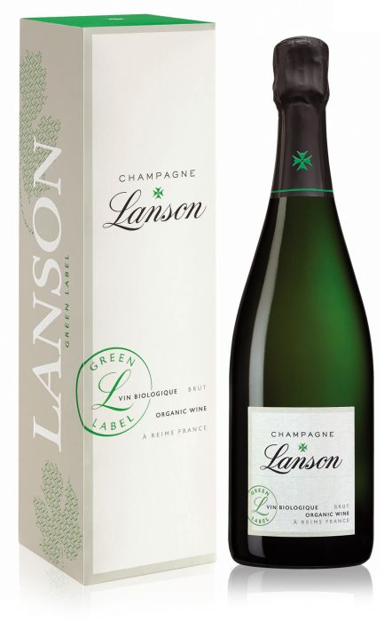 Lanson Green Label Organic Brut Champagne NV 75cl.