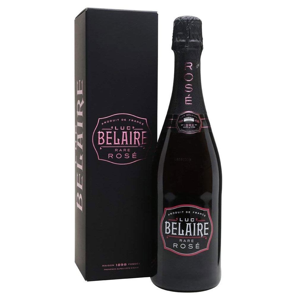 Luc Belaire Rose 75cl. Sparkling Wine in Gift Box