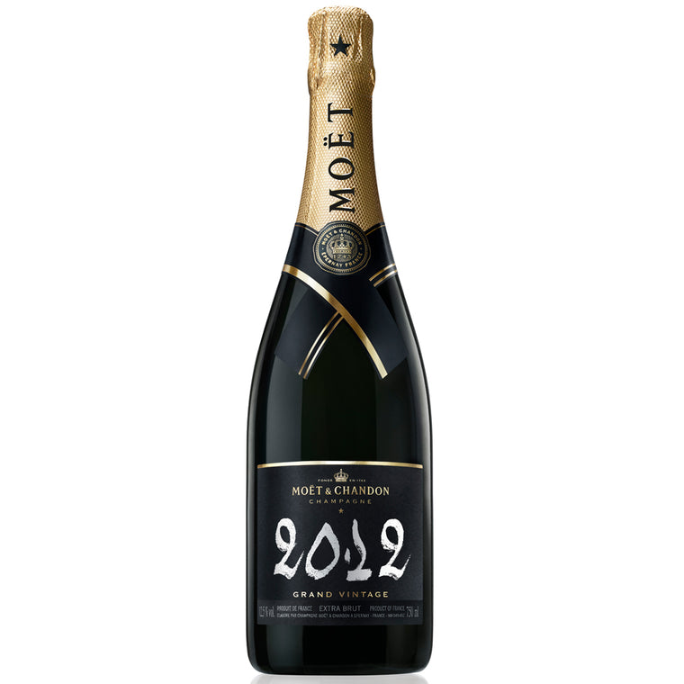Moet & Chandon Grand Vintage 2012 Champagne 75cl