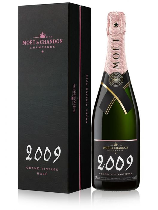 Moet & Chandon Rose 2009 Grand Vintage Champagne 75cl