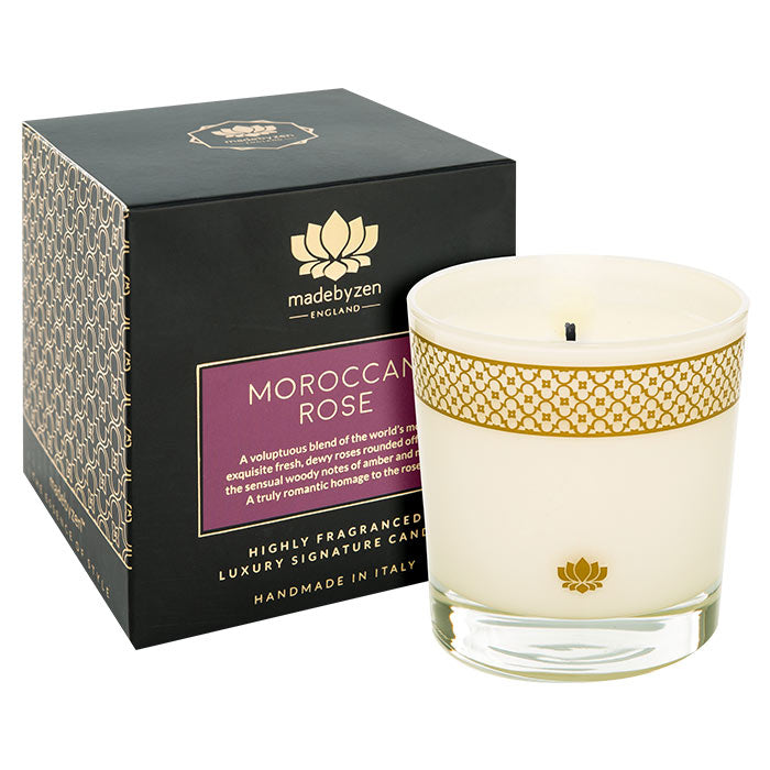 MadebyZen Morrocan Rose Candle