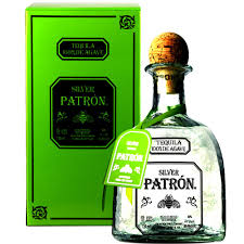 Patron Silver Tequila 70cl. in Handcrafted Glass Bottle