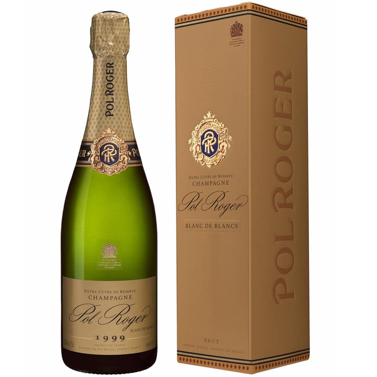 Pol Roger 1999 Blanc de Blancs Brut Champagne 75cl in Gift Box