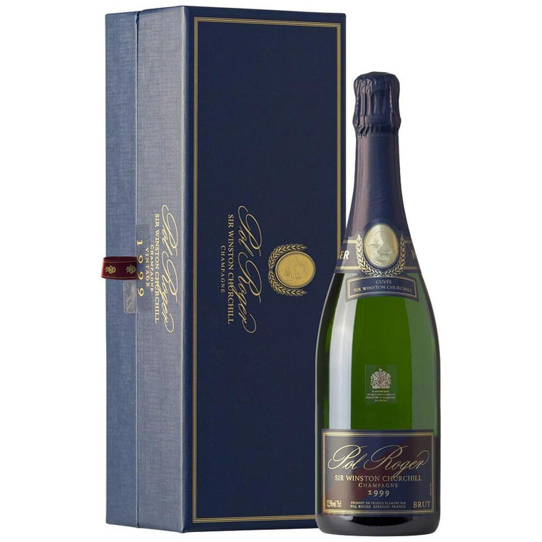 Pol Roger Sir Winston Churchill 1999 Vintage Brut Champagne 75cl in Gift Box