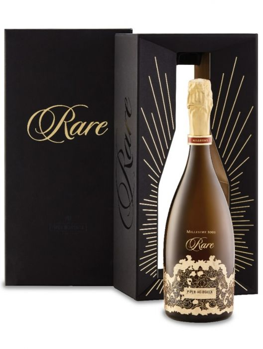 Piper Heidsieck Brut Rare 2002 75cl with Charbonnel & Walker Chocolate Box