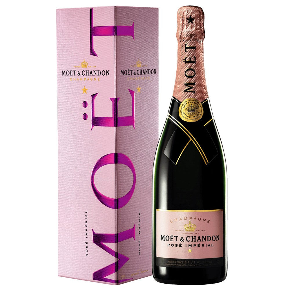 Moet and Chandon Rosé Impérial 75cl in Gift Box