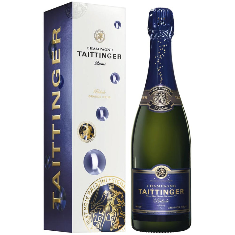 Taittinger Prélude Grands Crus Champagne 75cl in Gift Box