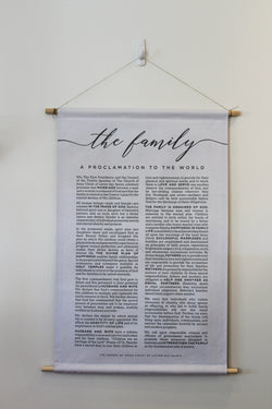 FAMILY PROCLAMATION WHITE