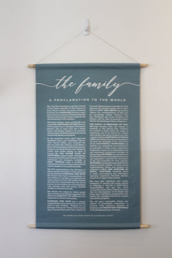 FAMILY PROCLAMATION BLUE