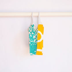 Fabric Reversible Headband Citrus Squeeze