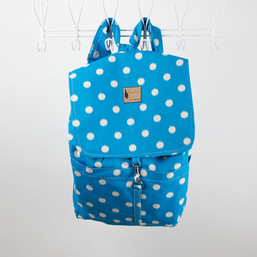 Backpack Polkadot Lagoon