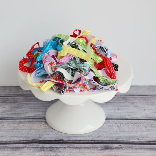 Stretchy Headbands in Bulk- 50 Printed