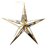 Mirrored Star Large Ornament