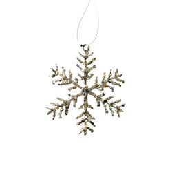Sequin Snowflake Small