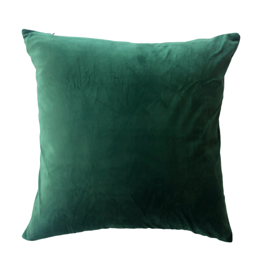 Velvet Pillow Cover Green