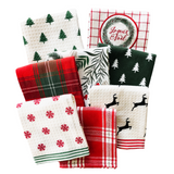 Dish Towel Holiday Sprigs