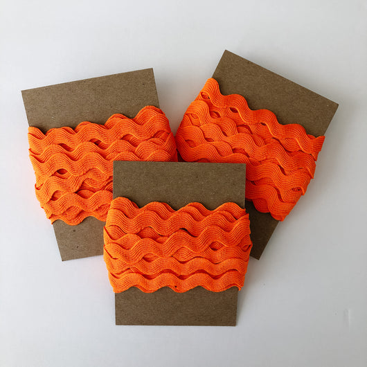 ribbon orange ric rac
