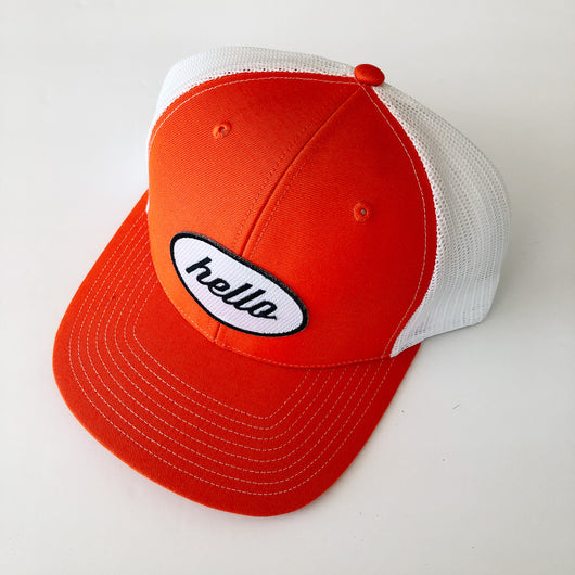 ball cap orange