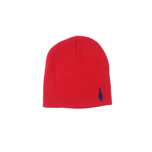 Beanie Red-Dark Blue Bird