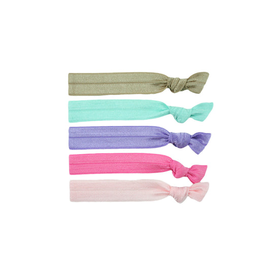 Stretchy Hair Ties 5 Pack - Chirpy