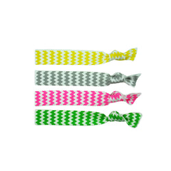 Stretchy Hair Ties 4 pack- Ziggy Love