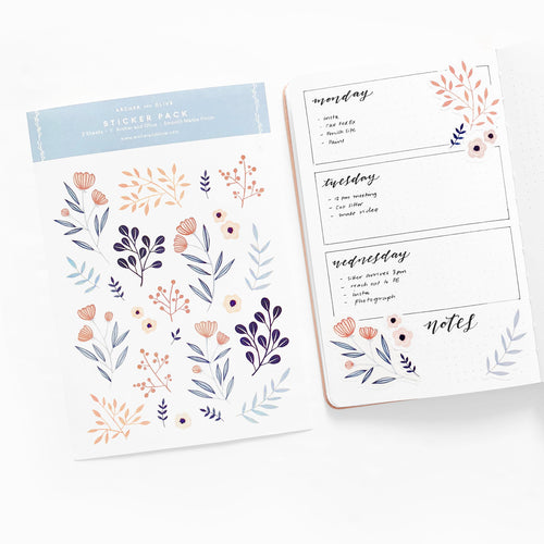 Bullet Journal/Planner Stickers - Frosting