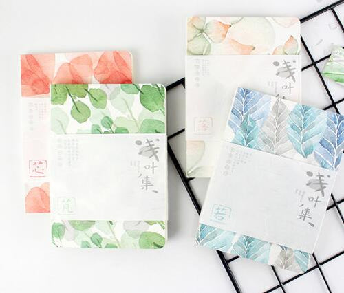 Kawaii Planner Drawing Note Book - Beautiful Leaves