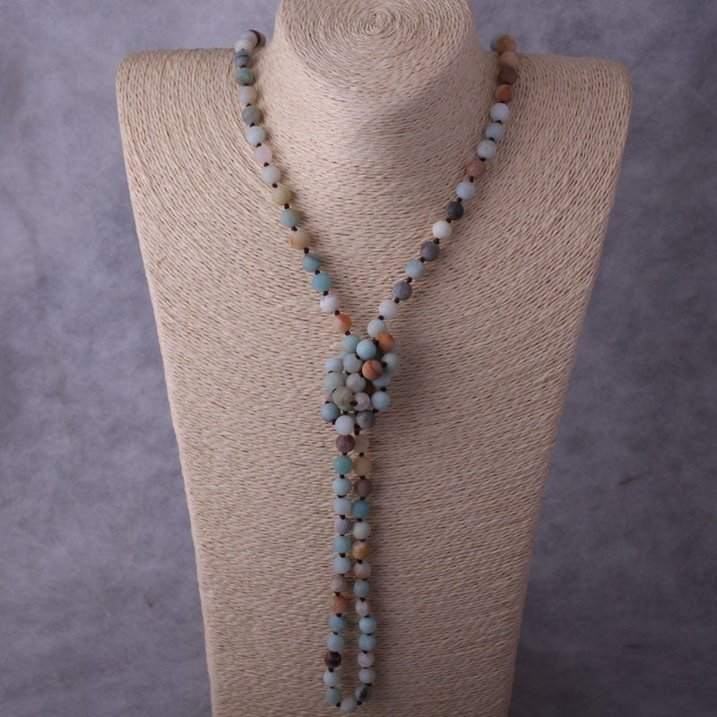 Amazonite Necklace - Eleganz n Grace - The Style Shoppe