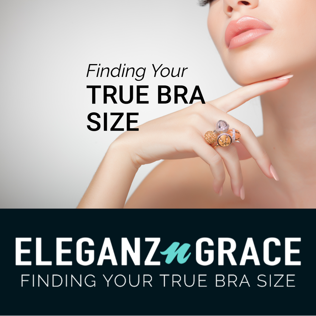 Finding Your True Bra Size Infographic