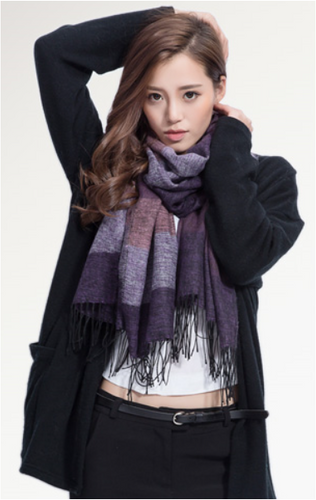 Cashmere Blend Spring/Autumn Scarf - Eleganz n Grace - The Style Shoppe